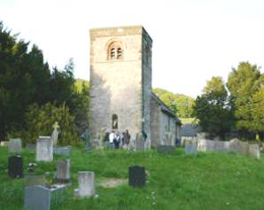 Alsop Church with the Tower.  Photo taken by Mike Radcliffe