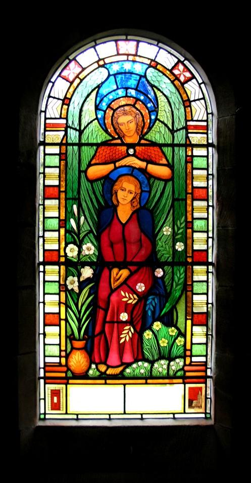 Tthe Annunciation - buona seconda settimana di Avvento dans immagini sacre