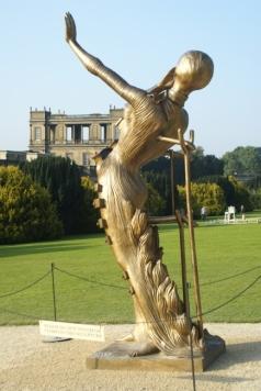 Salvador Dali - Femme en Flamme