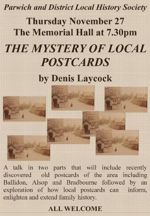 Talk on Postcards