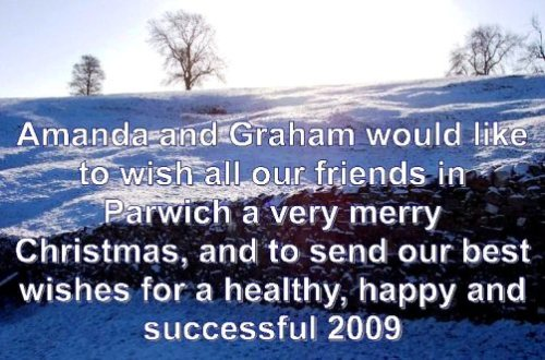 Merry Christmas from Graham & Amanda