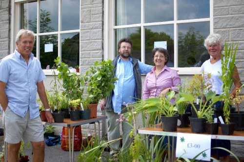 Plant sale at the Memorial Hall