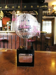 Strictly Come Dancing Trophy
