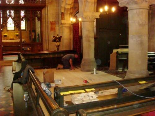 church floor 2