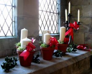 Church Christmas Flowers 016
