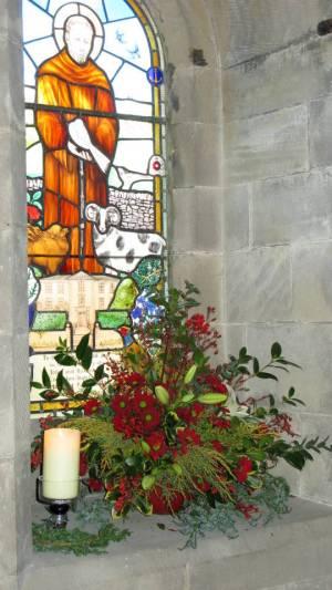 Church Christmas Flowers 027