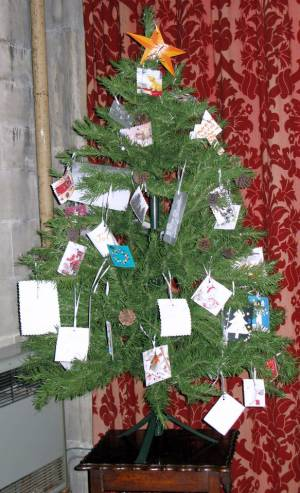 Church Christmas Flowers 028