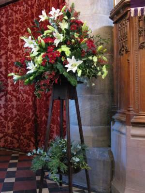 Church Christmas Flowers 039