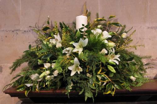 Church Christmas Flowers 044