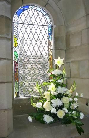 Church Christmas Flowers 051