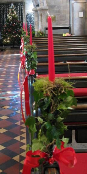 Church Christmas Flowers 055
