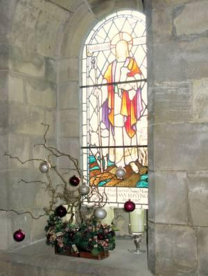 Church Christmas Flowers 070