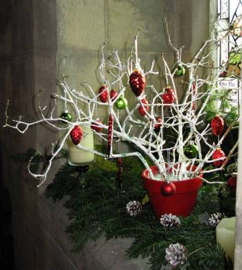 Church Christmas Flowers 074