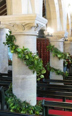Church Christmas Flowers 096