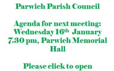 agenda for next meeting 16Jan13 poster
