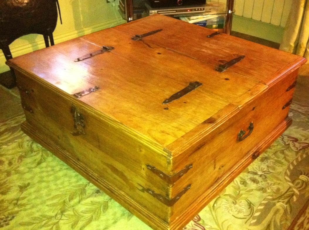 Diy coffee table plans wood free wooden pdf plywood for Plywood coffee table diy