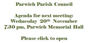 Agenda 20 November 2013