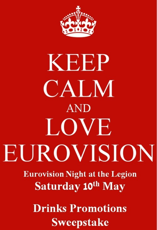 Eurovision 2014 keep calm