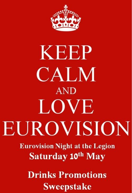 Eurovision 2014 keep calm