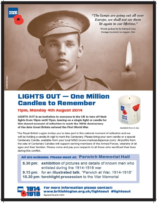 lights out parwich poster