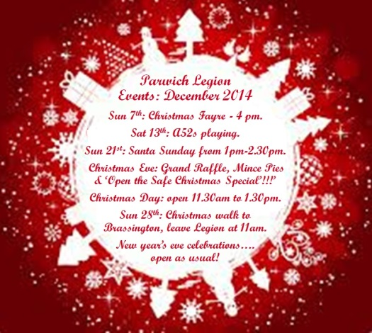 christmas events 2014 V2