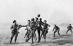 WW1 football