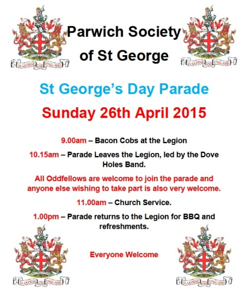 st george's day 2015