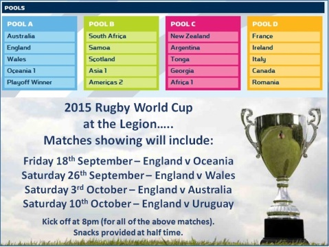 rugby world cup 2015 No 1