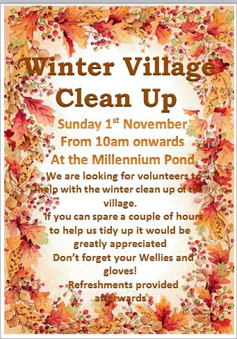 winter clean up