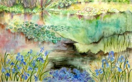 The Lake in Springtime - G Radcliffe