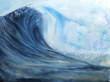 Wave - by Gillian Radcliffe
