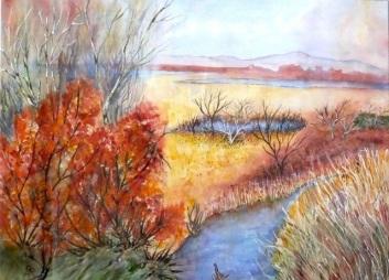Autumn Blaze - by Gillian Radcliffe