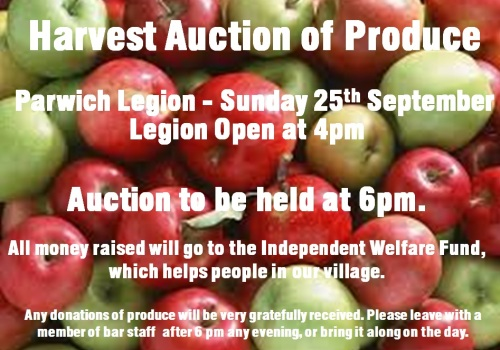 harvest auction apples 2016