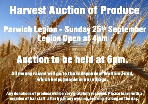harvest auction corn 2016