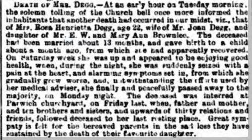1892 12 Feb Henrietta Rose Twigge