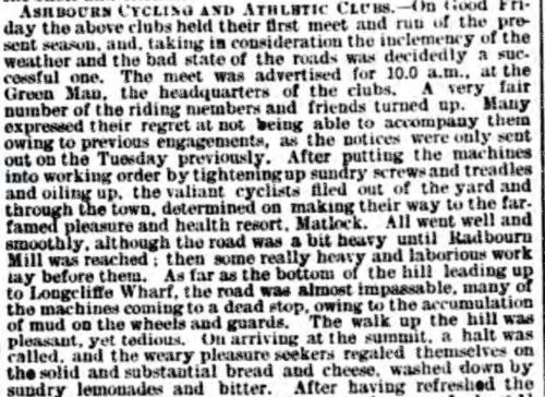 1892 DA&J 22 Apr Ash Cycling CLub