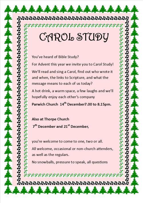 Carol Study