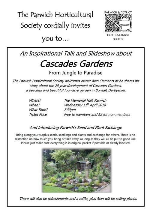 Cascade Gardens Talk