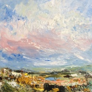 Clouds over the Dam - Ruby Hickmott