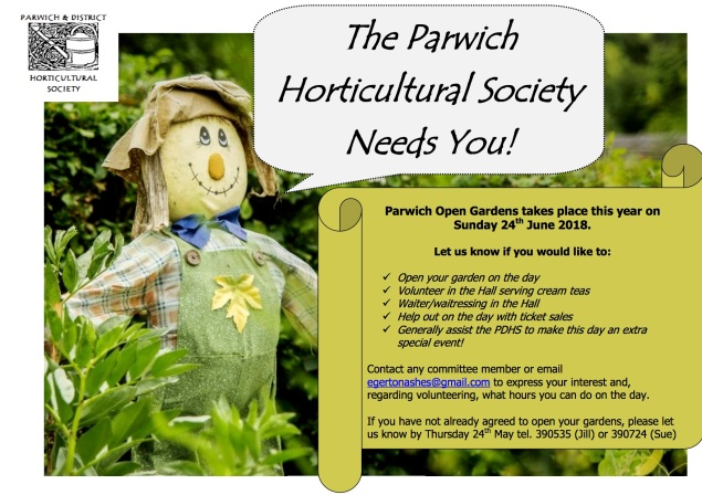 Open Gardens Volunteers Needed