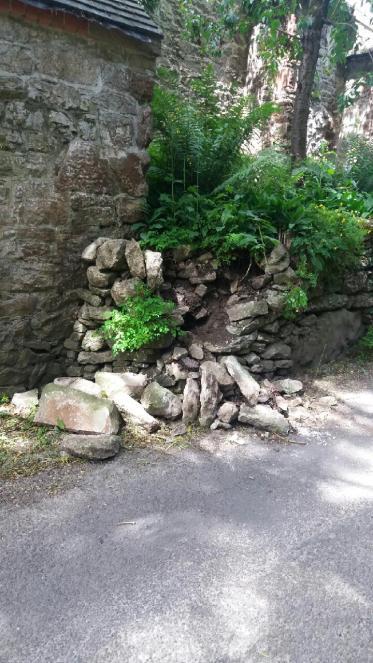 damaged wall 2