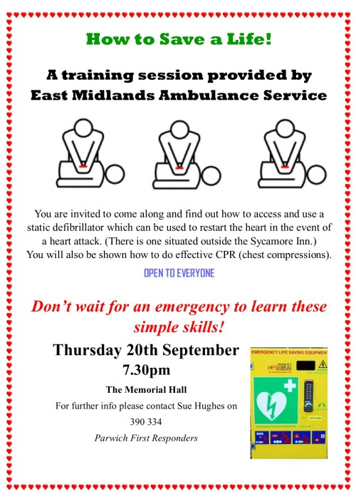 Static Defibrillator Training
