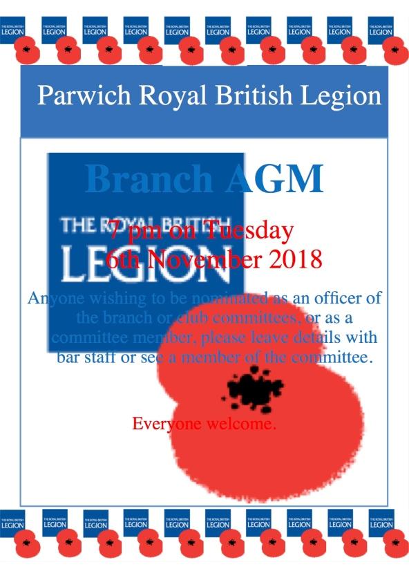AGM Branch poster