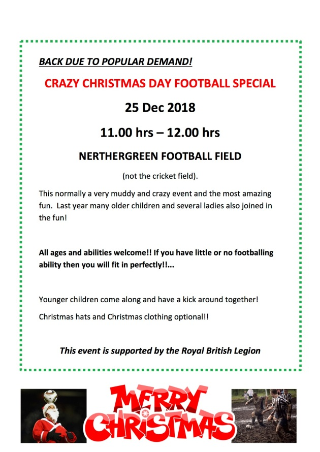 Christmas Day Football 2018