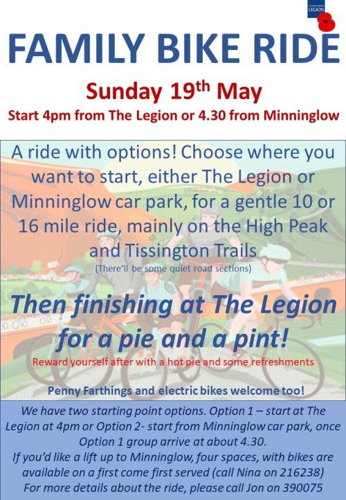 19 05 09 Two options Bike ride