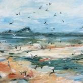 'Flight' Rhossili Bay, The Gower Peninsula - Ruby Hickmott