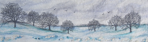 Winter in the Peaks - Lynn Comley